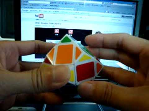 3X3X3 Rhombic Dodecahedron Parity solution