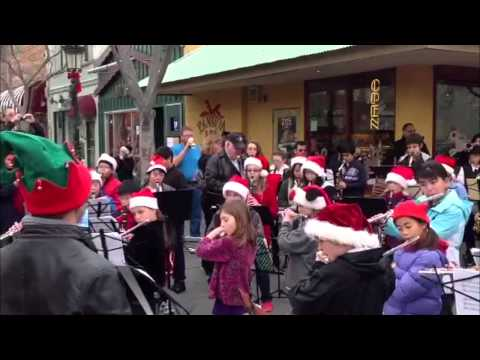 ABC Music Christmas Band Caroling rmore 2012