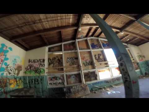 Gopro Exploration#1(Part 1): Visiting an abandoned skii and water park