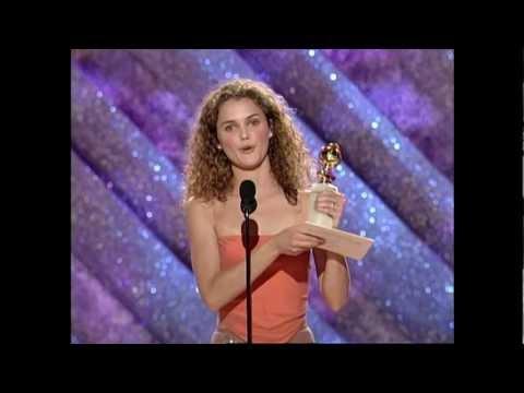Keri Russell Wins Best Actress TV Series Drama  Golden Globes 1999