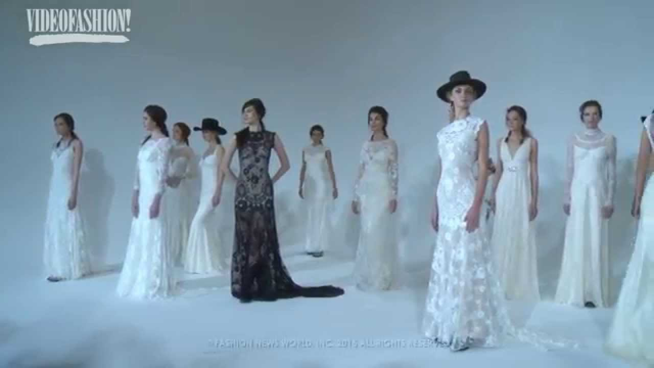 New York Bridal Fashion Week - Claire Pettibone Bridal Spring/Summer ...