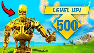 *FIRST EVER* LEVEL 500 in SEASON 5!! - Fortnite Funny Fails and WTF Moments! #1157