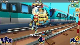 iGameBox🤩Subway Surfers DUBAI ⎮Zoombie Jake HD Fullscreen*Gameplay For Kid#4