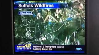 Wild Fire Long Island Area Map