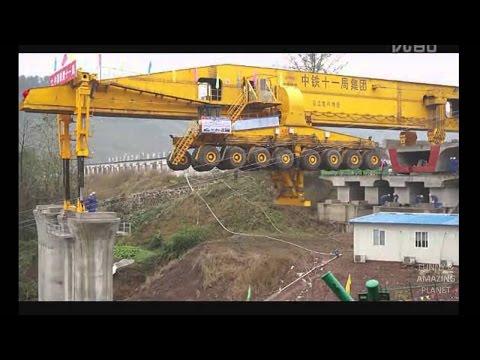 Kirow Bridge Builder Girder Erection Mega Machine SLJ900 32 China
