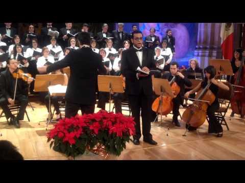 Edwin Calderón ... Handel's Messiah