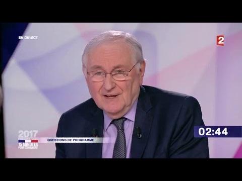 """Jacques Cheminade dans """"15 minutes pour convaincre"""" sur France 2"""