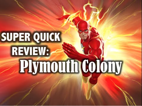 Super Quick Review: Plymouth Colony & Mayflower Compact