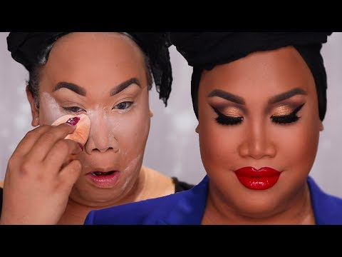 FULL COVERAGE GET READY WITH ME | PatrickStarrr