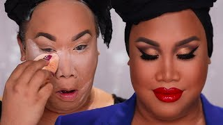 FULL COVERAGE GET READY WITH ME | PatrickStarrr thumbnail