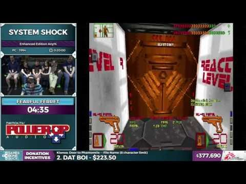 System Shock by Fearful Ferret in 12:54 - SGDQ 2016 - Part 100