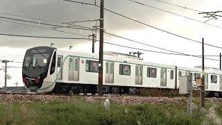 東急2020系9両+6020系1両 甲種輸送91 9788レ EH200-24牽引