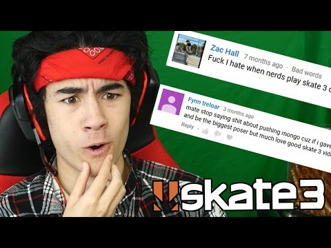 Reading Mean YT Comments: Skate 3 Edition