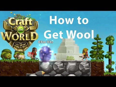 Craft the World - How to Get Wool |