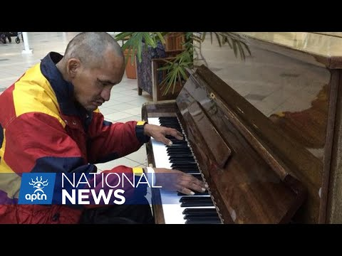 Edmonton homeless man, known for his brilliant piano playing – has died | APTN News