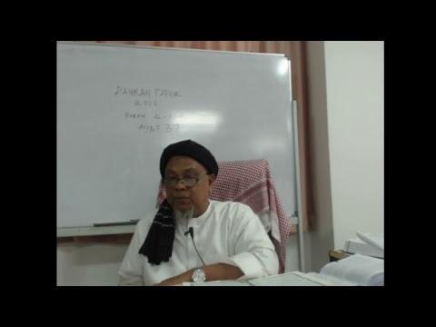 Download Daurah tafsir quran di madrasah tafsir sunnah 2018 sesi 2 petang  (31-5-2018)