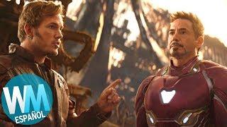 ¡Top 10 DATOS De Avengers: Infinity War Que DEBES SABER!