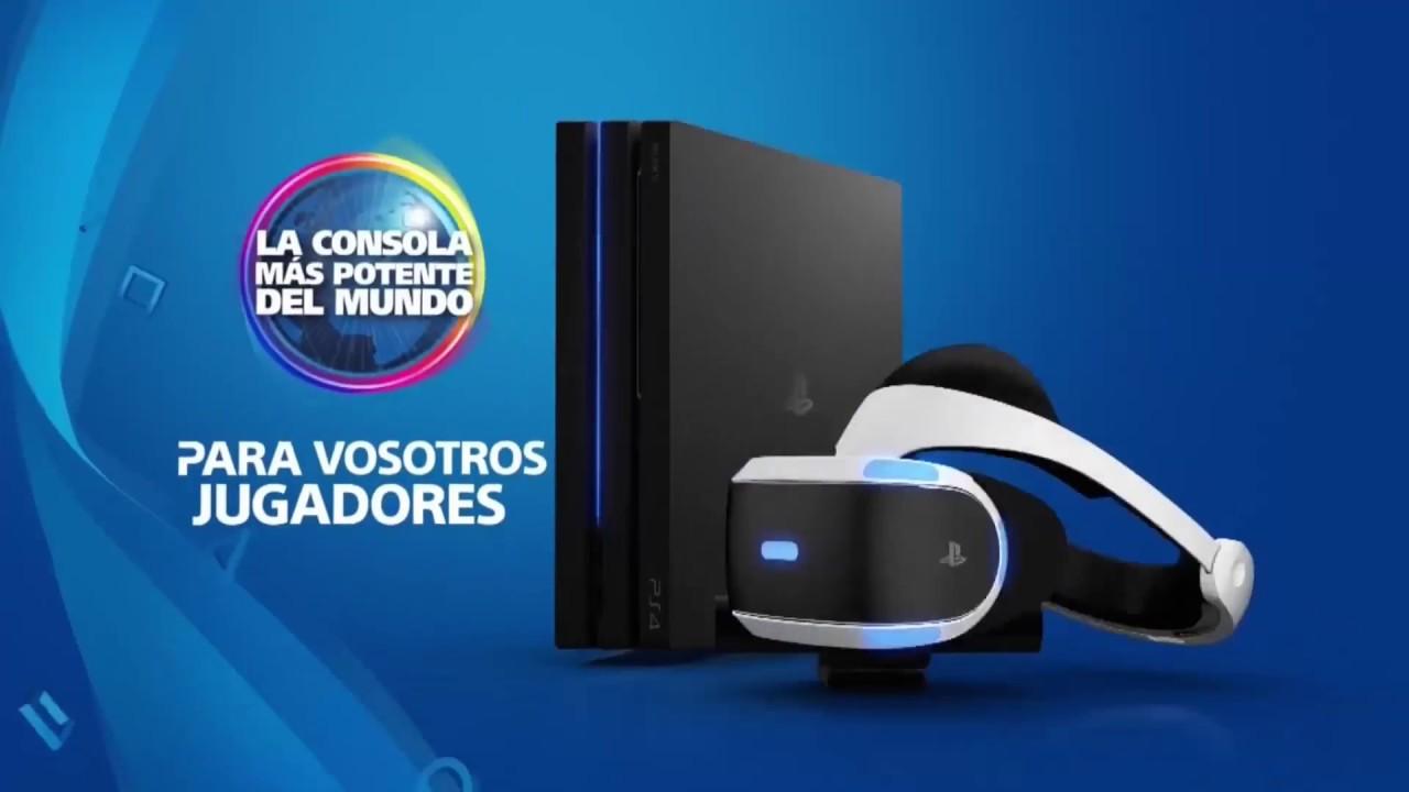 Playstation Ps4 Pro Anuncio Publicidad Espa 241 A Comercial