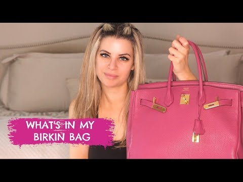 What's In My Birkin Bag? October 2019 thumbnail