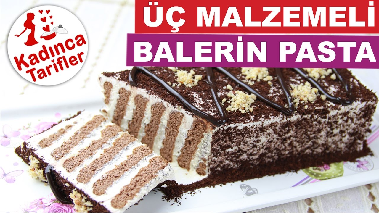Bisküvili Balerin Pasta Videosu 30