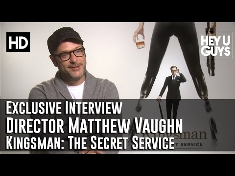 Writer / Director Matthew Vaughn Interview - Kingsman: The Secret Service