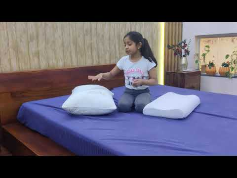 Bamboo Pillow v/s Memory Foam Pillow for kids. Which pillow is best for kids for sleeping#kidspillow