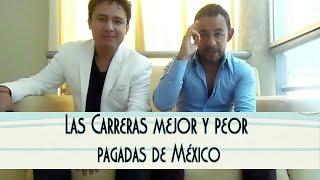Las 10 carreras mejor y peor pagadas de México según Forbes.