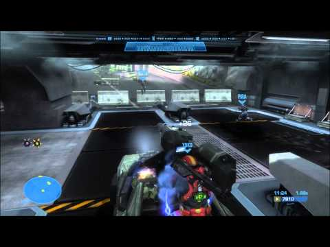 Let's Co-op Halo Reach with Gameovision Staff Part 2 Oni Sword Base