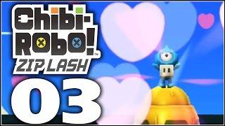 Chibi Robo! Zip Lash Walkthrough Part 3 | 1-1 again & 1-2 The Mysterious Mine