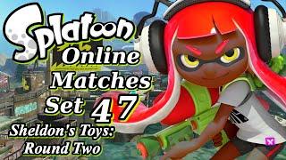 Splatoon: Online Matches Set 47 (Sheldon