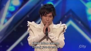 [English-Vietsub]  Ảo thuật gia Hara mang cả thế giới kỳ diệu đến  America's Got Talent