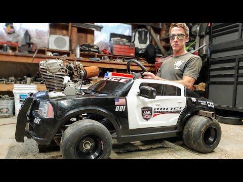 DIY Power Wheels Go Kart Tutorial Series
