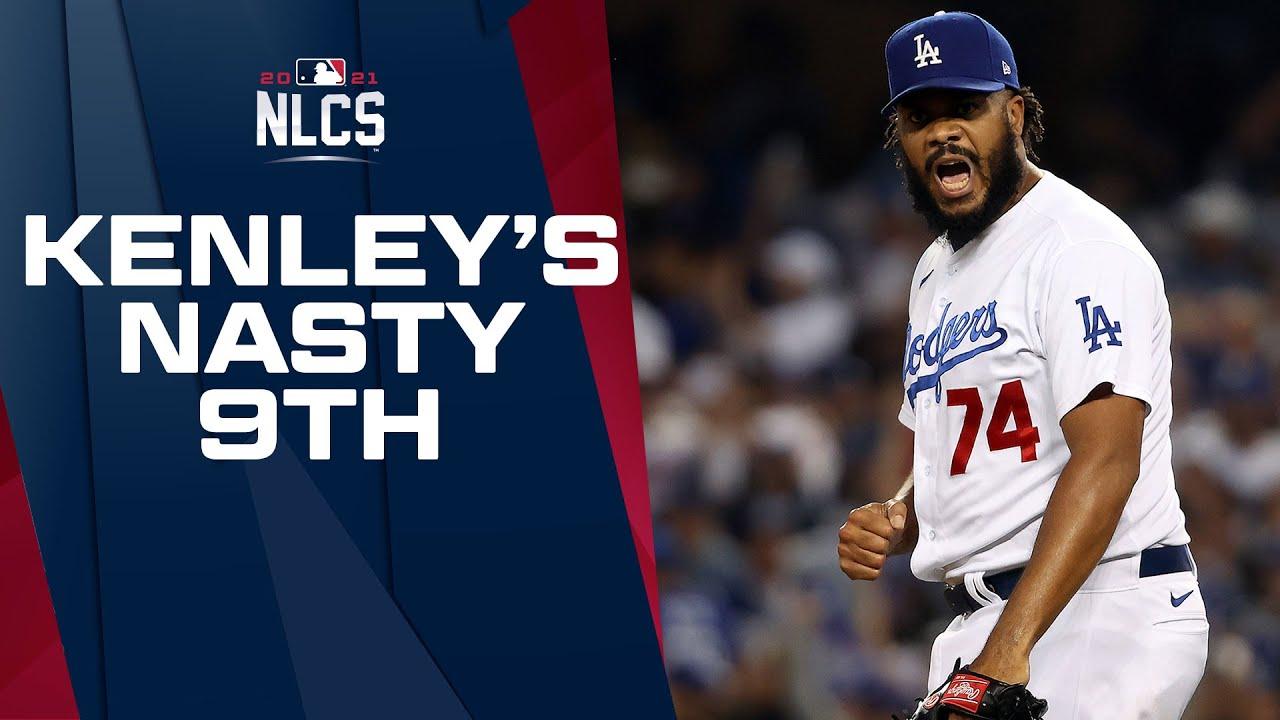 NASTY KENLEY!! Dodgers' Kenley Jansen carves up Braves to save NLCS Game 3