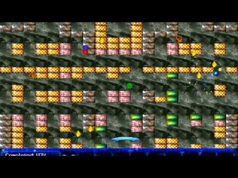 Arkanoid - The Virtual Isles V2.0 (Windows Game 2000)