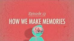 How We Make Memories: Crash Course Psychology #13