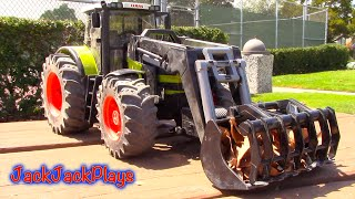Farm Tractors for Kids: Bruder Truck Toy UNBOXING: Loader, Bulldozer, Dump Truck