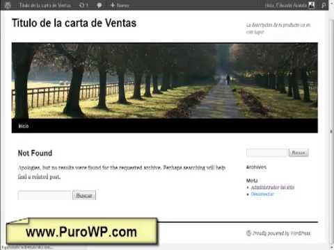 www.PuroWP.com - Instalacion y Uso de Buscador de Dominios