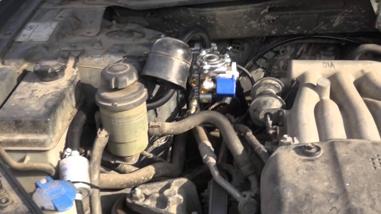 Установка ГБО на Hyundai Santa Fe 2.7 от STAG Харьков. Газ на Хендай Санта Фе 2.7