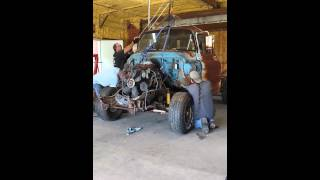 ' 58 chevy cab going on the '85 chassis