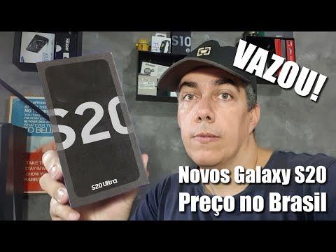 Vazam preços da linha Galaxy S20 para o Brasil