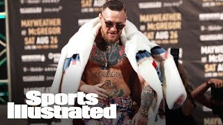 McGregor Vs. Mayweather: Conor McGregor Responds To Racism Claims | SI NOW | Sports Illustrated thumbnail