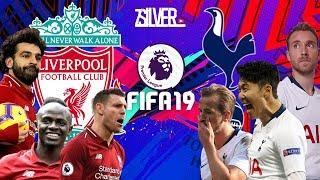 FIFA 19 - ลิเวอร์พูล VS สเปอร์ส - พรีเมียร์ลีกอังกฤษ[นัดที่32]