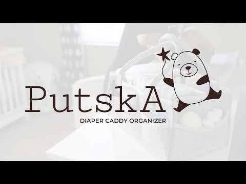 Putska Baby Diaper Caddy