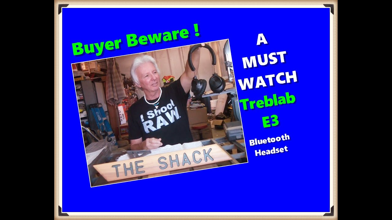 Treblab Blootooth Headset You'll want to watch this ! !