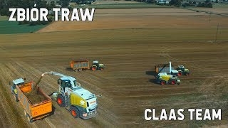 Zbiór traw! | Claas Team - Jaguar 960, Arion 630/640
