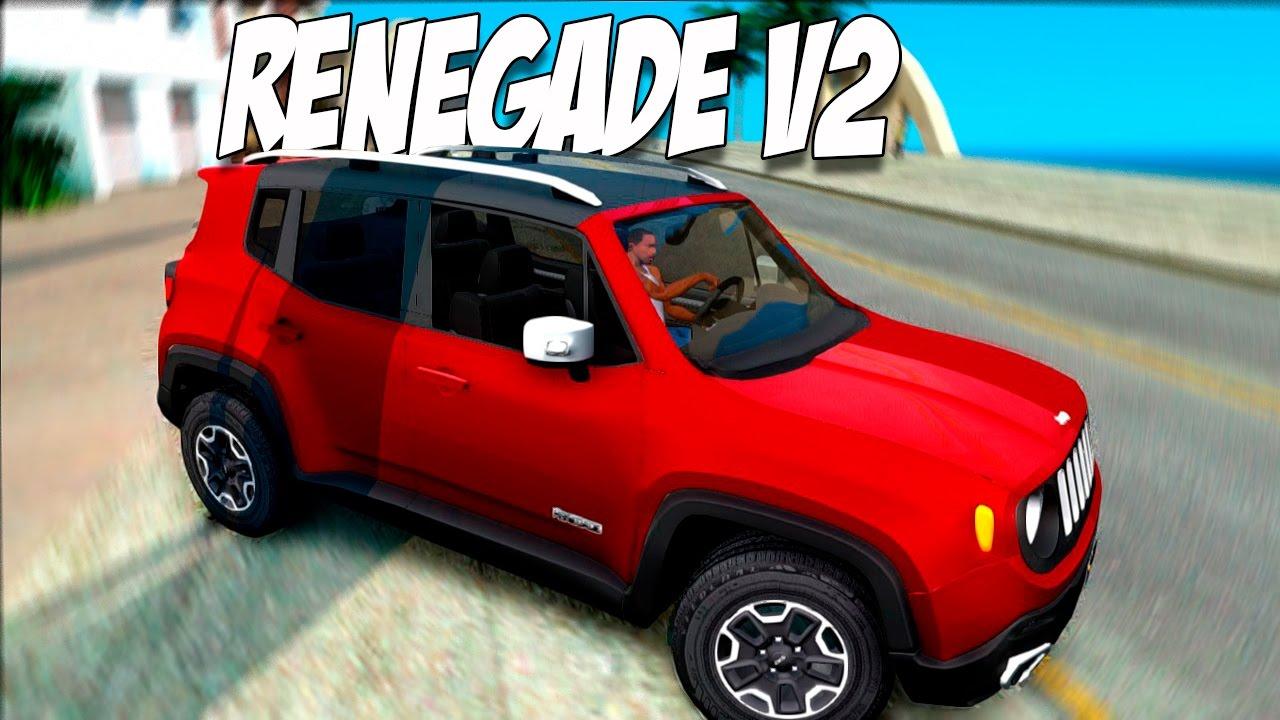 GTA SA- JEEP RENEGADE V2 - YouTube