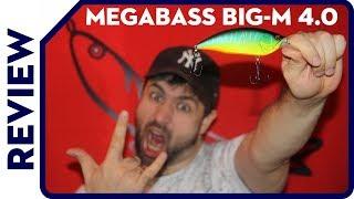 NEW Megabass BIG M 4.0  BIG MAMA for MONSTER HUNTING Абсолютно новый взгляд на кренки!