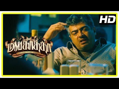 Mankatha Tamil Movie | Ajith And Premgi Get Drunk | Premgi Reveals The Plans To Ajith | Trisha