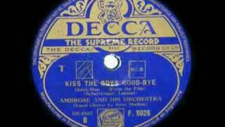 ANNE SHELTON ~ KISS THE BOYS GOOD-BYE ~ 1941