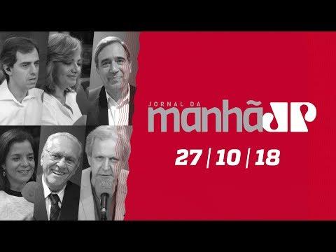 Jornal da Manhã - 27/10/18